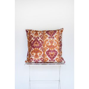 Rose and Orange Kiliam Pillow