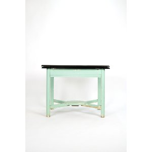 Art Deco Enamel Table