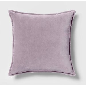 Lavender Velvet Pillow