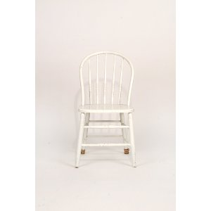 White Wood Chair