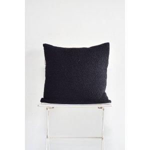 Black Boucle Pillow