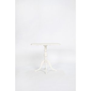 Dainty White Side Table