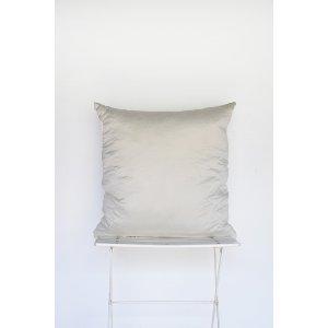 Ivory Satin Stitch Pillow