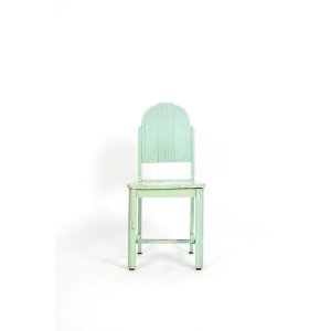Seafoam Art Deco Dining Chair