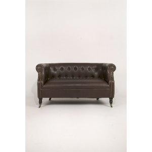 Wendall Leather Settee