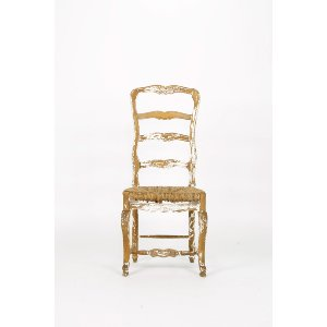 Shabby Ladder Back Chair