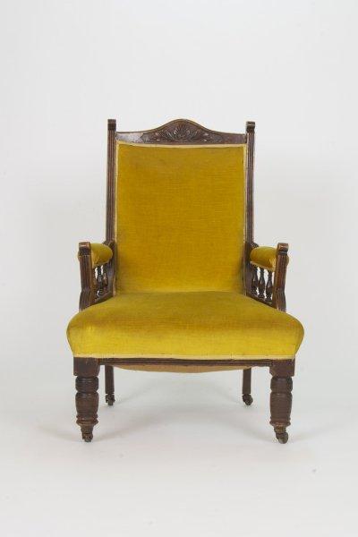 Manneville Mustard Arm Chair