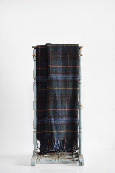 Navy Great Britian Wool Throw