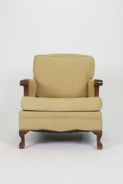 Tweed Arm Chair