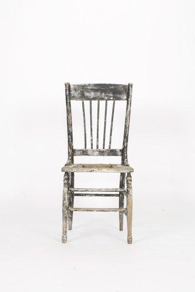 Black  Chippy Chair