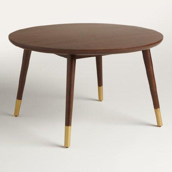 Mid-Century Coffee Table (Round)