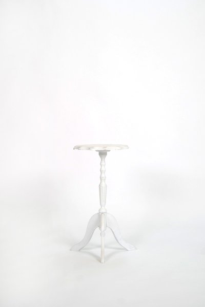 White Tiny Top Table