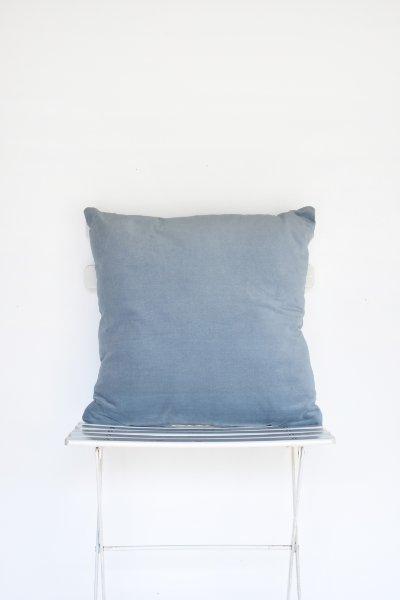 Soft Blue Velvet Pillow