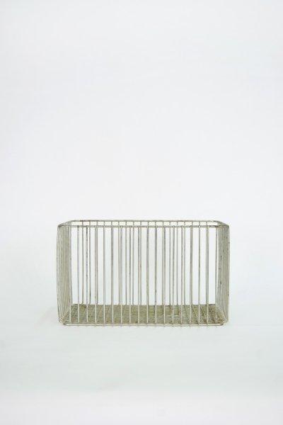 Tall Aluminum Basket