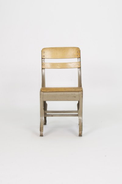 Industrial Child's School Chair