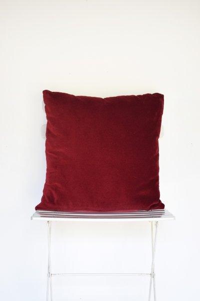 Merlot Velvet Pillow