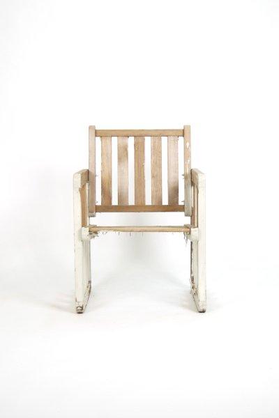 Weathered Beach Chair