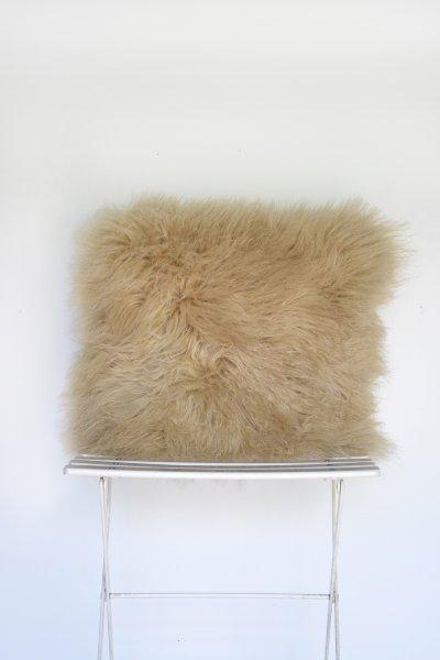 Mongolian Lamb Natural Pillow