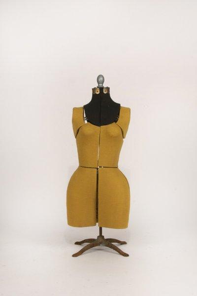 Gold Dress Form