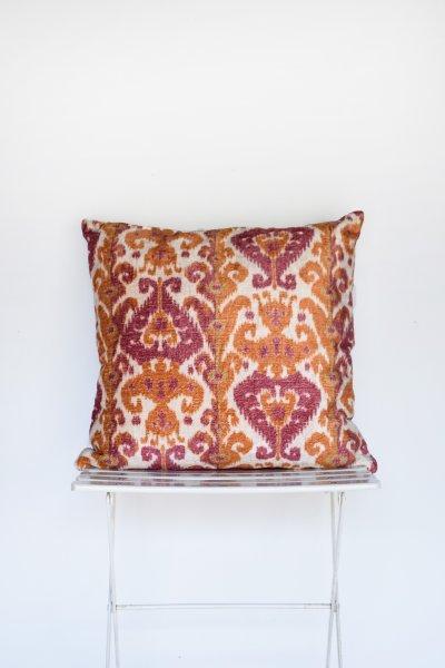 Rose and Orange Kiliam Pillow