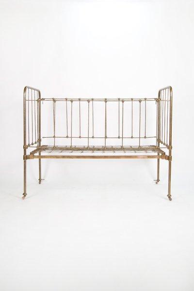 Bronze Iron Baby Bed