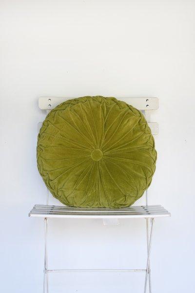 Green Medallion Pillow