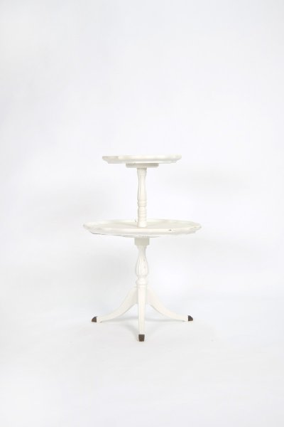 Two-Tier Pedestal Table