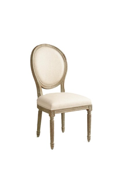 Jackie Oval Back Chair