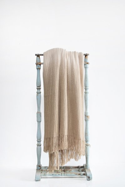 Taupe Ombre Throw