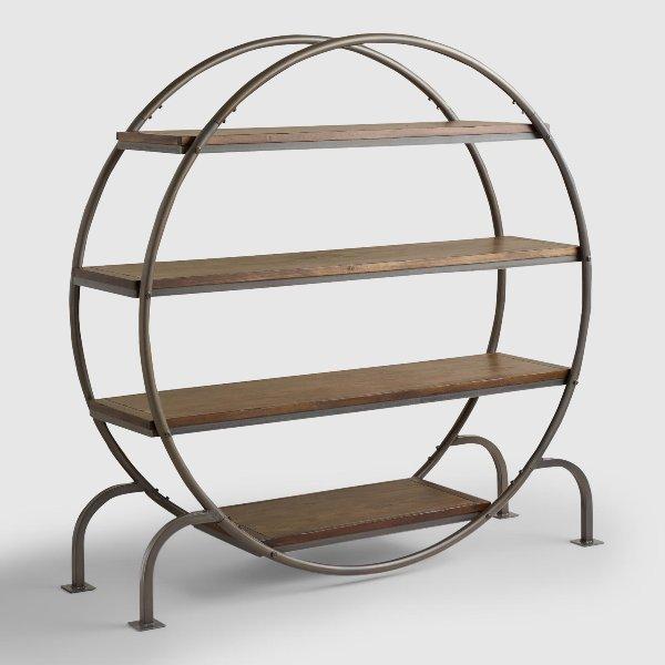 Princeton Round Bookcase