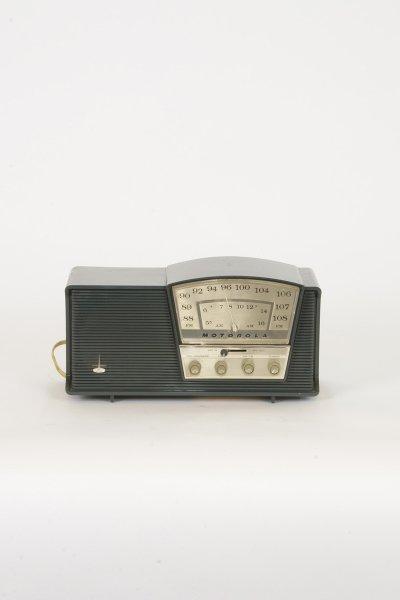 Blue/Gray Motorola Radio