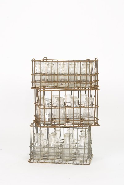 Wire Dairy Crates