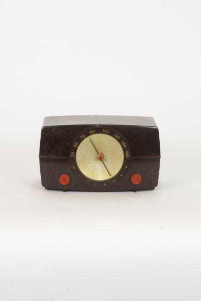 Brown Motorola Radio