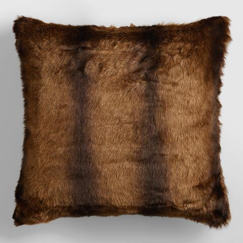 Faux Mink Pillow
