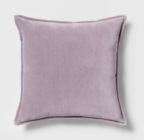 Lavender Velvet Pillow