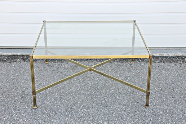 Gold Square Coffee Table
