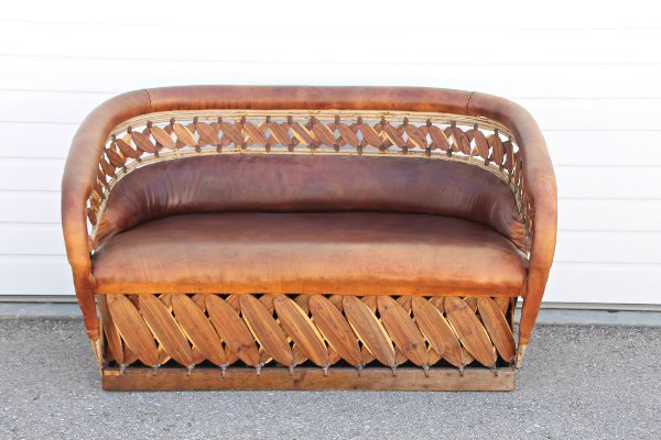 Available In A Sofa Or Settee, This Mexican Leather Sofa Is Stylish And  Durable. With Mexican Cedar Strips, Equipale Seating Will Create A  Southwest Or ...