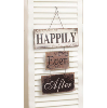 Sign - Happily Ever After 3 Tier Metal