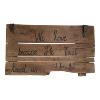 Sign - Barn Door I John 4:19