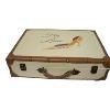 Suitcase - Cream High Heel Applique