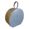 Hat Box Grey Round