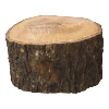 Cake Stand - Wood With Bark
