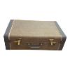 Suitcase - Brown Pattern