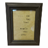 Black Framed vintage 'And They Lived Happily Every After'