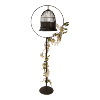 Vintage Birdcage With Stand - Brown
