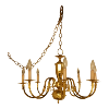 Brass Chandelier Multi Arm