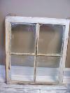 2 Pane Distressed Window-Glass