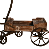 Rustic Wagon (Decorative Only)