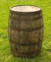 Wood Whiskey Barrel