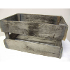 Wood Rustic Crate-Med